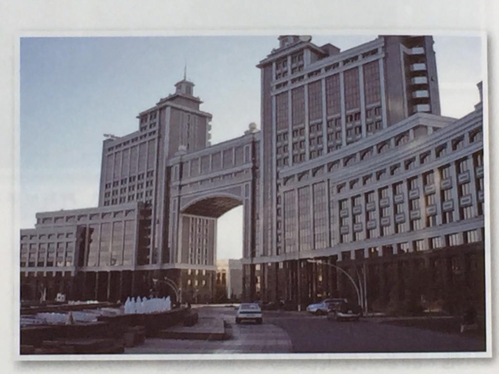 哈撒克共和國 Astana市行政中心大樓