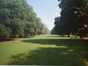 追求自然風景的英國庭園「倫敦求園的一隅」