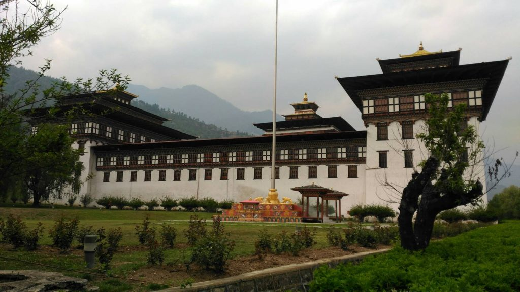 國會所在地~大西丘棕Tashi Choe Dzong